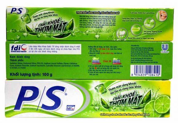 Trà xanh được sử dụng làm kem đánh răng