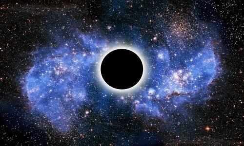 Hố đen vũ trụ (Ảnh minh họa)