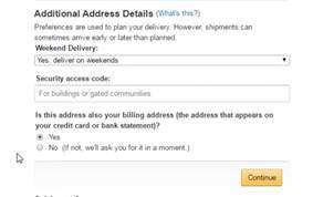 câu hỏi cuối cùng về địa chỉ billing address