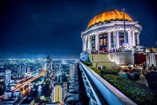 Khách sạn 5 sao sang trọng nhất ở Bangkok - Lebua at State Tower