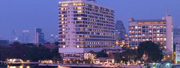 Khách sạn nổi tiếng hàng đầu ở Bangkok -Mandarin Oriental