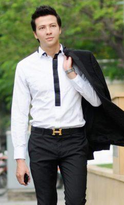 nam diễn viên đẹp trai Dương Hoàng Anh