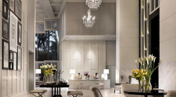 Khách sạn Oriental Residence Bangkok