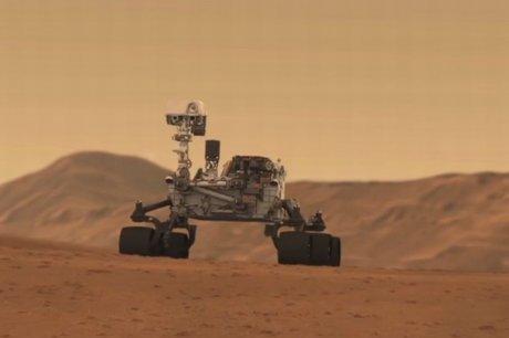 robot curiosity rover