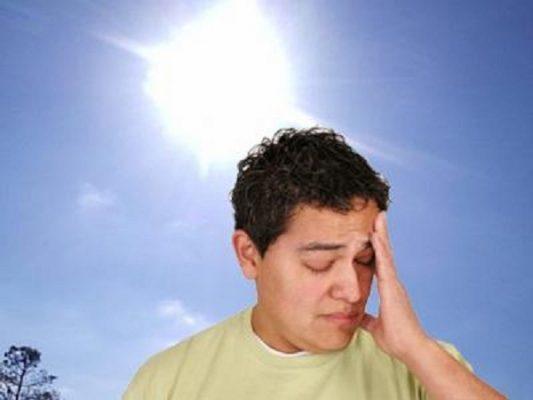 sơ cấp cứu khi say nắng