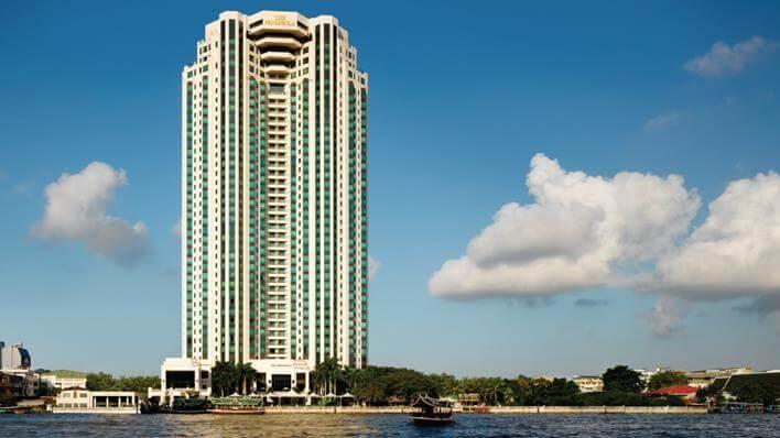 Khách sạn nổi tiếng hàng đầu ở Bangkok - The Peninsula Bangkok