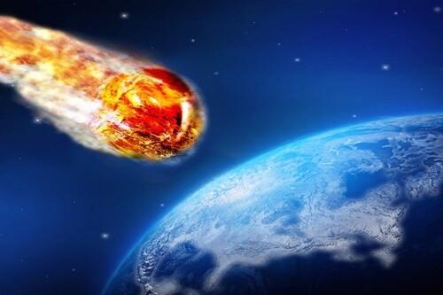 Thiên thạc va vào Trái Đất (Ảnh minh họa)