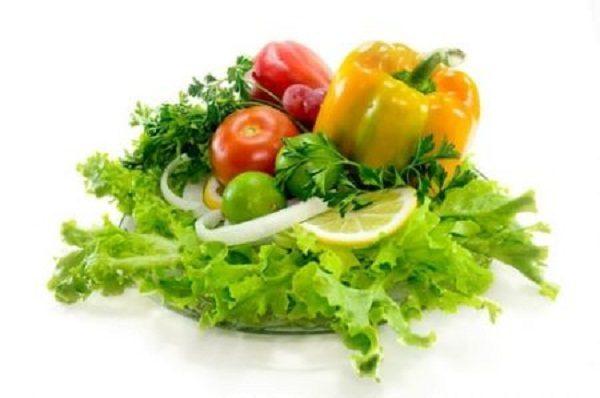 Rau xanh tốt cho quá trình giảm cân