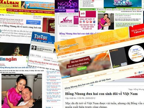 Một số trang tin điện tử hiện nay (Ảnh minh họa)