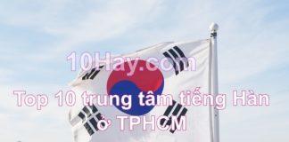 trung tâm học tiếng Hàn tại TPHCM