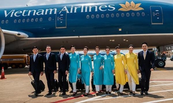 Việt Nam Airlines - thương hiệu Việt Nam nổi tiếng thế giới