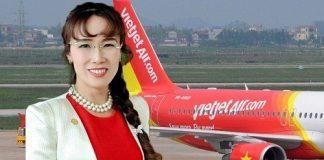 nữ doanh nhân quyền lực,VietJet - thương hiệu Việt Nam nổi tiếng thế giới,