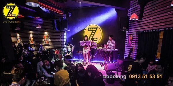 quán bar nhạc sống hay nhất tại Hà Nội
