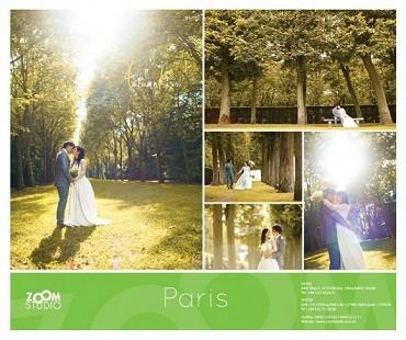 Một bức ảnh trong album ảnh cưới mà Zoomstudio thực hiện.