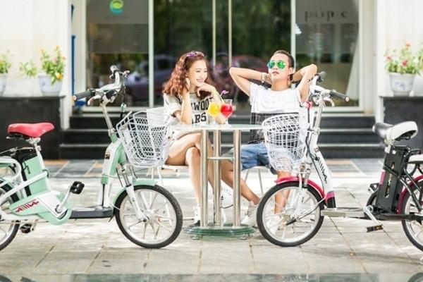 Aima ED210E - xe đạp điện học sinh sinh viên nên mua