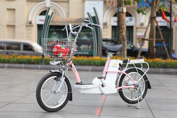Bridgestone SLI48 - xe đạp điện học sinh sinh viên nên mua