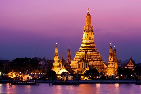 Chùa Wat Arun (Chùa Bình Minh)