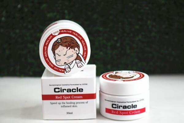 Bao bì dễ thương của Ciracle Red Spot Cream