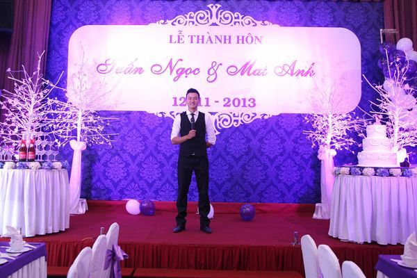 MC sự kiện của công ty Á Châu