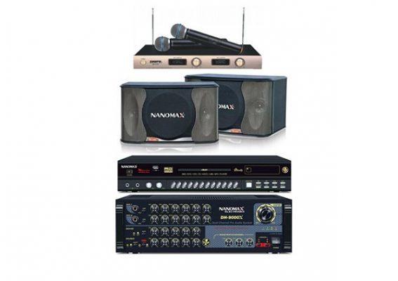 Dàn Karaoke gia đình hay nhất hiệu Nanomax