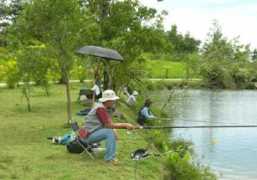 Địa điểm câu cá tự nhiên