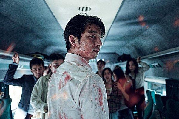Diễn viên Gong Yoo trong phim Train to Busan