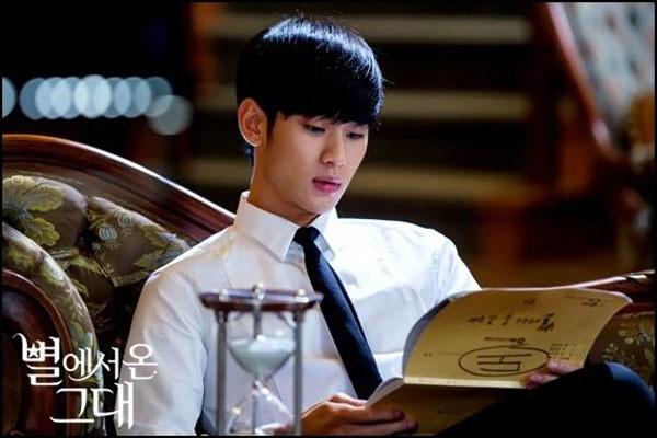 Diễn viên Kim Soo Hyun trong Vì sao đưa anh tới