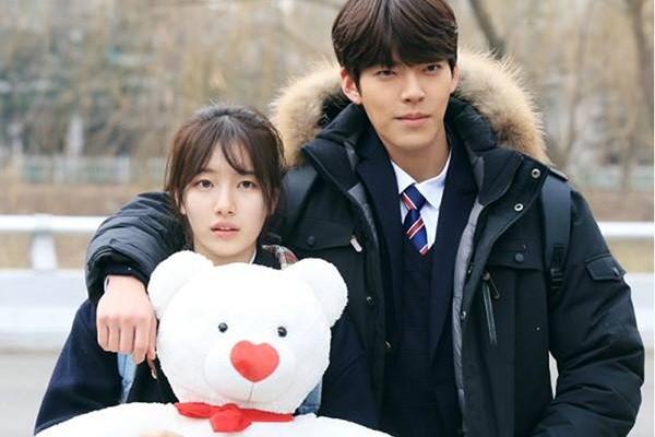 Kim Woo Bin và Suzy trong phim Yêu không kiểm soát
