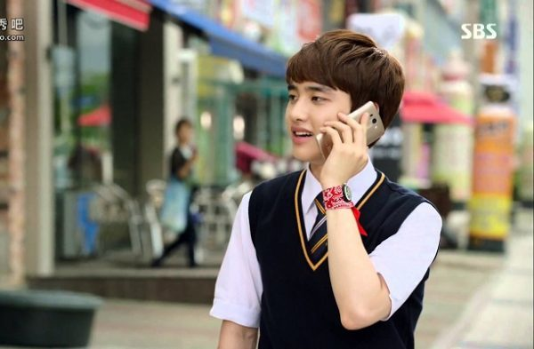 D.O trong phim It's okay, that love