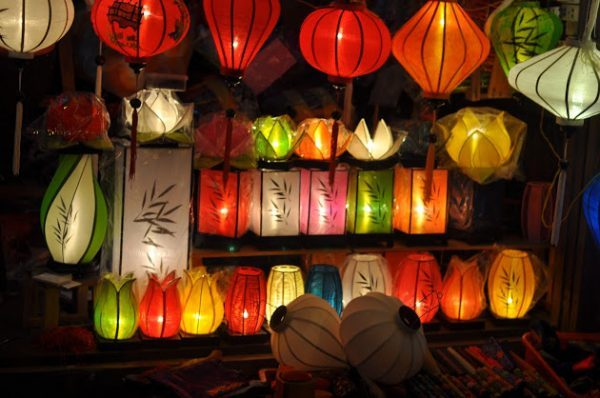 Đèn lồng Hội An- địa điểm du lịch