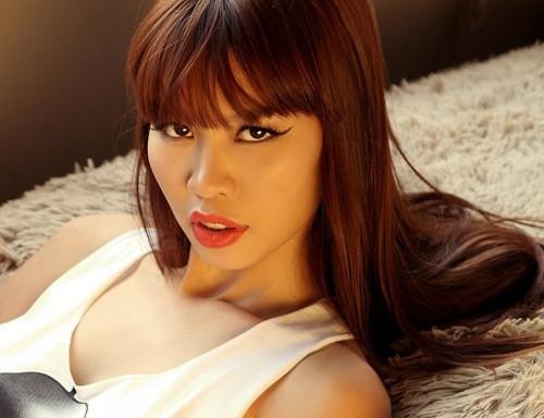 Siêu mẫu Hà Anh một trong những người mẫu quyền lực nhất Việt Nam.
