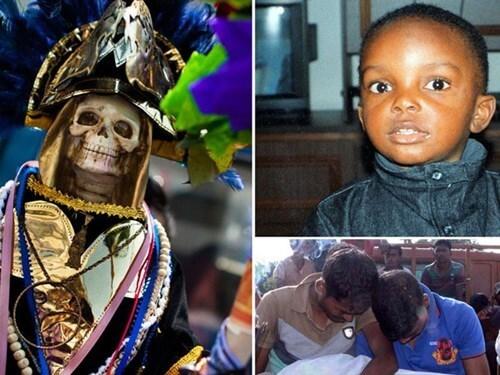 Hủ tục hiến tế trẻ em ở Uganda