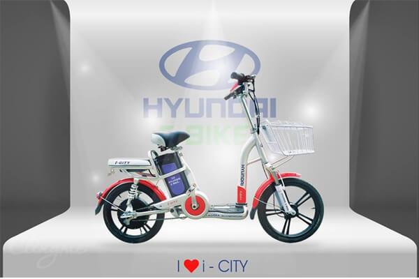 Hyundai Ebike i-City- xe đạp điện học sinh sinh viên nên mua