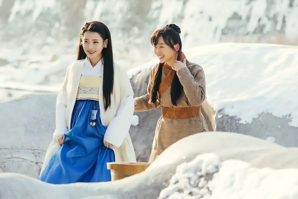IU trong tạo hình phim cổ trang Moon lover