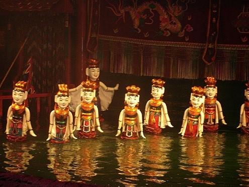 múa rối nước
