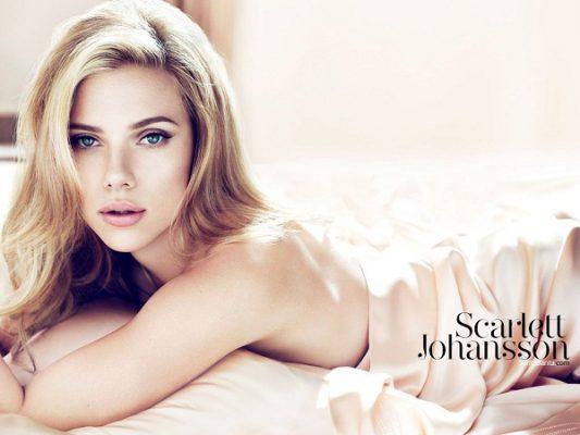nữ diễn viên đẹp nhất - Scarlett Johansson