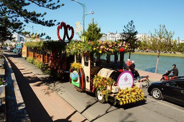 Lễ hội hoa ở Đà Lạt-địa điểm du lịch
