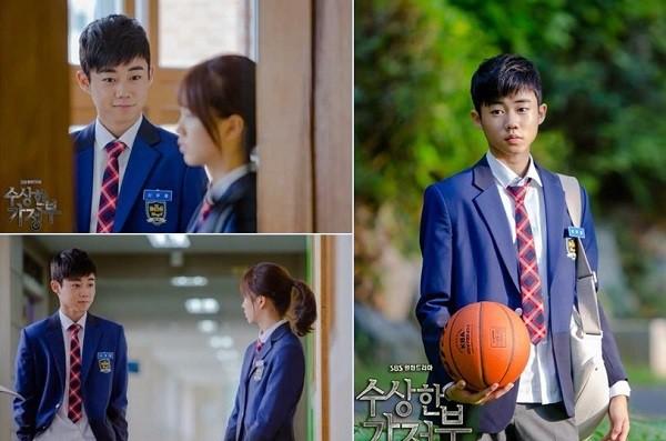 Nam diễn viên nhí Park Ji Bin