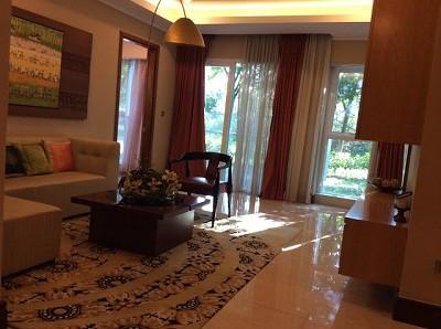 Phòng khách của chung cư The Link Ciputra