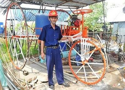 Sáng chế của nông dân Nguyễn Cao Thượng