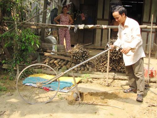 Sáng chế độc đáo của nông dân Lương Văn Đồng