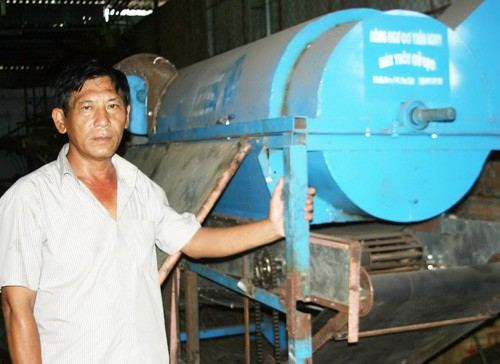 Sáng chế độc đáo của nông dân Nguyễn Văn Hai