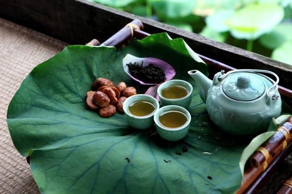 Trà sen Tây Hồ - Loại trà ngon nhất Việt Nam