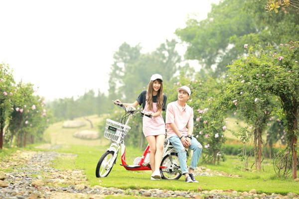 Zinger Color 2 - xe đạp điện học sinh sinh viên nên mua