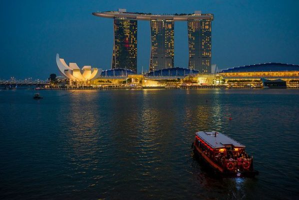 Marina Bay Sands là điểm đến hấp dẫn tại Singapore