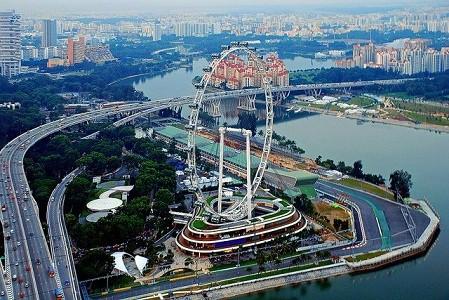 Vẻ đẹp của Singapore Flyer