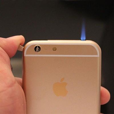 Bật lửa hình iphone của shop quà Deva