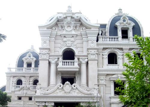 Biệt tự của đại gia Dệt Nam Định