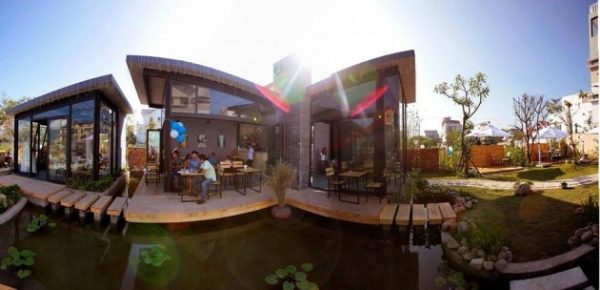 Vẻ đẹp của Cloud Garden Cafe