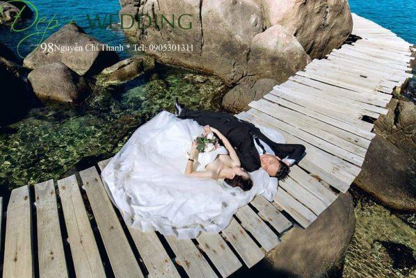 Đẹp+Wedding luôn mang đến những bức ảnh cưới với khung cảnh đẹp và lãng mạn